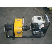 Quality High Speed Gasoline Cable Winch Puller With Shaft Transmission for sale