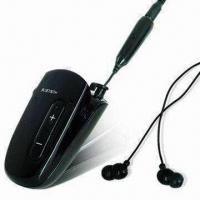Buy Stereo Bluetooth Headset with Voice Dailing, Select Song and Last Number Redial Functions at wholesale prices