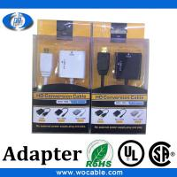 Quality 1080P VGA to HDMI adapter with Audio support for sale