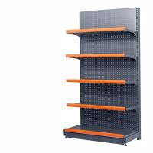 China Powder Coated Supermarket Display Racks  / Grocery Store Display Shelf on sale