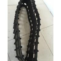 China Black Robot Rubber Tracks 254×65×30 / Wear - Resistant Snowmobile Track Parts on sale