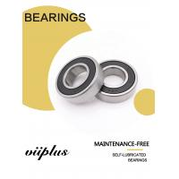 China Sliding Bearing Polymer Plain Bushing Replacement For Deep groove ball bearings 606-6012 Series on sale