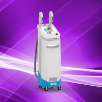 Quality Quickly Hair Removal Two Handles Shr Super IPL Hair Removal Machine,Skin Rejuvenation for sale