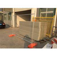 Quality 2100mm*2400mm temporary fence panels hot dipped galvanized 42 microns hdg NZS375.15 primer Standard 2.1m*2.4m for sale