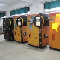 Quality Shopping Mall Automated Fresh Orange Juice Vending Machine Coin Cash Payment for sale