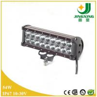 China 12V 4200lm 54w cree double row led light bar for car on sale