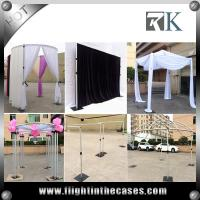 Wholesale pipe and drape trade show booth pipe and photo booth drape stands
