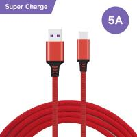 Quality Super - Fast Charging USB Data Cable Type - C Connector 5A For Huawei for sale