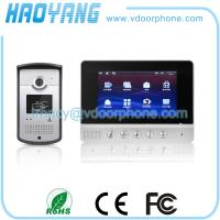 China SONY CCD Video Interphone, indoor station, outdoor unit on sale