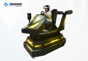 Quality Dynamic Platform Multiplayer 9D Virtual Reality Racing Car Simulator for sale