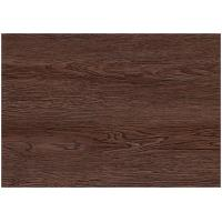 Quality Dark Wood Grain PVC Vinyl Flooring For Office / Shopping Mall Eco - Friendly for sale