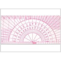 Quality 12 Inch Durable Plastic Pattern Making Ruler multi use 30 CM Kearing Ruler for Fashion Design for sale