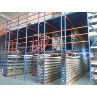 Multi Layer Industrial Metal Mezzanine Systems Weight Capacity 200-1000 KGS / Square Meter