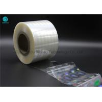 Quality Transparency Holographic BOPP High Shrink Film 2400m - 2800m Length Thermal Laminating for sale