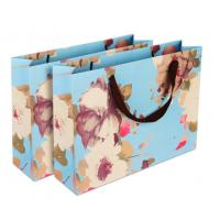 China Delicate Design Custom Printed Paper Bags / Paper Merchandise Bags OEM / ODM Available on sale
