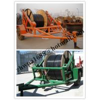 Quality pictures cable trailer,cable drum table, new type Cable Conductor Drum Carrier for sale