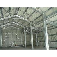 Quality Small Warehouse Steel Structure / Light Steel Frame Construction for sale