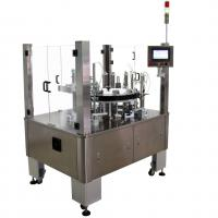 China Vertical Rotary Semi Automatic Cartoning Machine For Blister Sachet Bottle Tube on sale