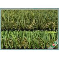 China Monofilament Landscape Artificial Grass PU Coating Landscaping Fake Grass on sale