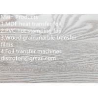 Quality Wood hot stamping foil for MDF for sale