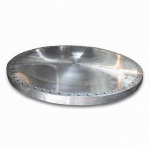 Quality China A694 Forged Steel Blind Flange: API 6A Flat Face Blind Flanges, DIN 2629, EN1092-1, ASTM A694 F42, F46, 150LB-2500 for sale