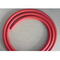 Red Groove Surface Rubber Air Hose , Recoil Air Hose  ID 3 / 16 To 1