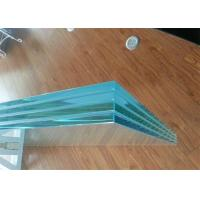 Quality Colored / Clear PVB Laminated Glass 6.38mm 8.38mm 8.76mm Thickness For Construction for sale