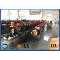 Quality Full Automatic Steel Door Frame Roll Forming Machine With Hydraulic Cutting for sale