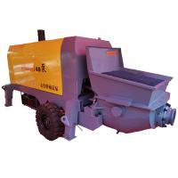 Quality Large Aggregate Portable Concrete Pump Truck High Hard Wear Resistant Alloy Material for sale