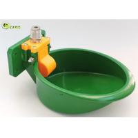 China Plastic Nylon Pig Water Bowl , Animal Goat Water Bowl Green Color High Hardness on sale