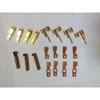 Quality Customized Metal Stamping Brass , Punching Metal Stamping Dies Copper Contact Parts for sale