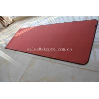 Quality Eco - Friendly Yoga Mat Neoprene Rubber Sheet / Fancy Non Slip Yoga Mat for sale