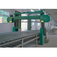 Quality Horizontal Continuous Foam Production Line For Soft Urethane Foam Rubber , 130kw for sale
