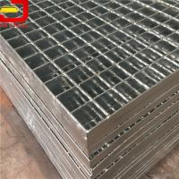 Quality Heavy Duty Bar Welded Steel Bar Grating , Galvanized Steel Grating For Stair Treads for sale