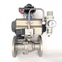 Quality at052 actuador neumtico  AT series small size pneumatic actuator for valves for sale