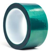 Quality 3M 8992 Green Polyester High Temperature Tape with Silicone Adhesive , Masking Tape , Dark Green Color for sale