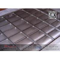 China Stainless Steel 304 grade Steel Bar Grating for food industries | 25x5mm load Bar | electro polish on sale