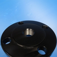 Quality Black Coating DN50 X NPTF DN40 Threaded Pipe Flange for sale