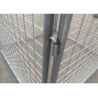 4mm Hot Dipped Galvanized Rubbish Cage Metal Garbage Cage Tube 32mm*1.5mm