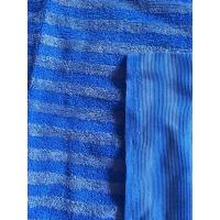 Quality Microfiber 160cm Width Warp Knitting Blue Eight Grid Eight Twisted Cleaning Cloth for sale