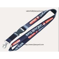 China Custom Corporate Dye Printed Neck Lanyards, Cheap Neck Strap with Breakaway on sale