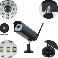 Quality 3W Simulation Monitoring Solar Powered Led Security Motion Detector Outdoor Lights for sale