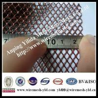 China Powder coated aluminum mesh for  Roof  filter system on sale