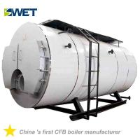 Quality Automation 4 Ton Fire Tube Oil Gas Steam Boiler For Rice Mill , High Safety for sale
