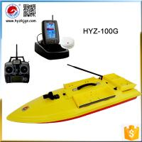 Quality Sea Fishing Rod Good Partner HYZ-100G GPS Tracking RC Bait Boat for sale