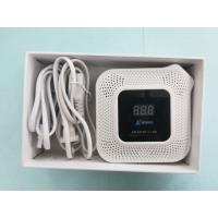 Quality Home Dual gas detector for commercial for carbon monoxide and natural gas with flexible port for valve and power for sale