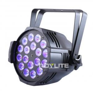Quality Show Pro LED Par Cans 18 x 12w UV Wash Flood 30° Lux High Brightness for sale