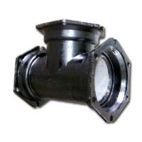 Quality MJ×MJ Mechanical Joint Tee / C153 Compact Mechanical Joint Pipe Fittings for sale
