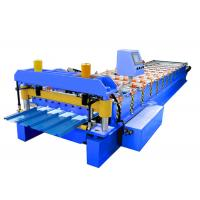 Quality Corrugated Roof Roll Forming Machine 16 Stations Low Energy Consumption for sale