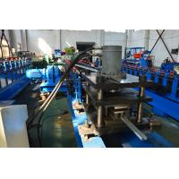Quality 1.5 - 2.0mm 19 Roller Stations Solar Strut Roll Forming Equipment Hydraulic Punching And Cutting for sale
